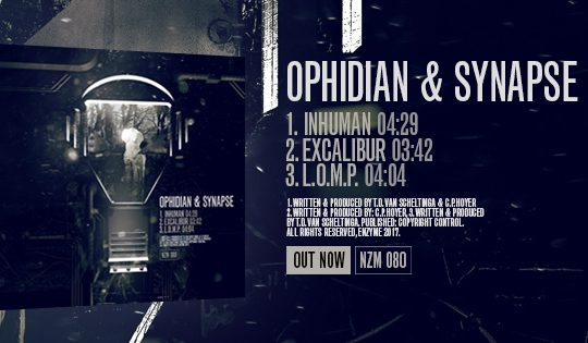 NZM 80 – Inhuman EP by Ophidian & Synapse – OUT NOW!