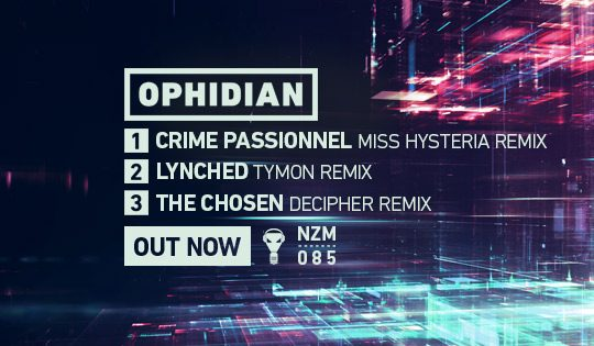 NZM 85 – Alternate Universes EP by Ophidian – Out Now!