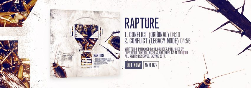 NZM 72 by Rapture – Conflict EP OUT NOW!