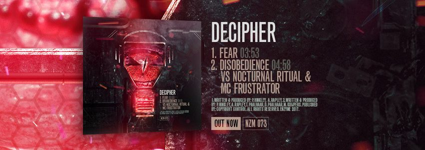 NZM 73 by Decipher – Fear EP OUT NOW!