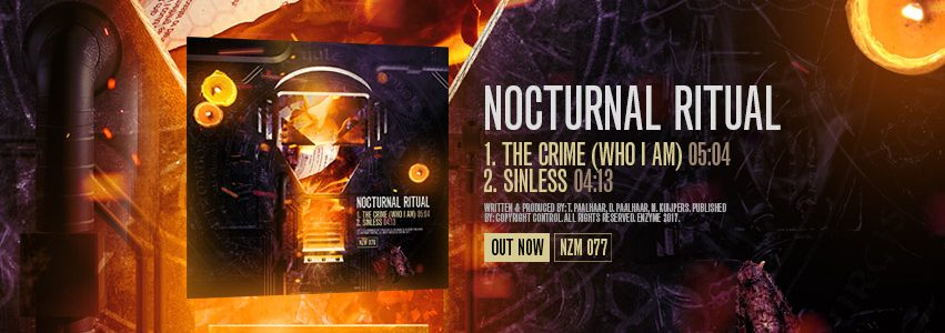 NZM 77 – THE CRIME (WHO I AM) EP BY NOCTURNAL RITUAL – OUT NOW!