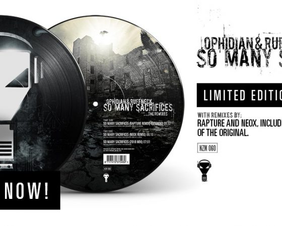 ENZYME 60 Picture Disc – So many Sacrifices ( The Remixes) – Out Now!