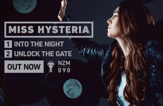 Miss Hysteria is back on Enzyme Records with a great versatile release!